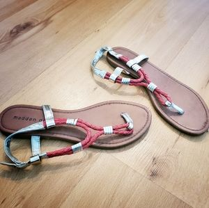 Madden Girl flip flop sandals 7.5